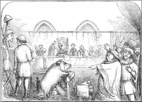Lorsque les paysans ne pouvaient pas payer la dîme au Moyen Âge, à qui faisait-on des procès pour menacer les paysans ?
