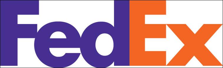 """La société """"Fedex"""" est spécialisée dans le transport rapide. Quel signe subliminal en témoigne dans son logo ?"""