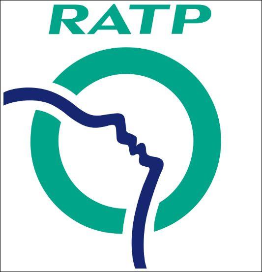 """Que représente la ligne méandreuse qui traverse le logo de la """"RATP"""" ?"""