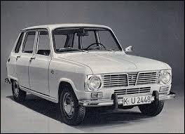 En 1974, la Renault 6 valait à peu près le même prix qu'une Ford Escort, soit un peu plus de 12 000 francs.