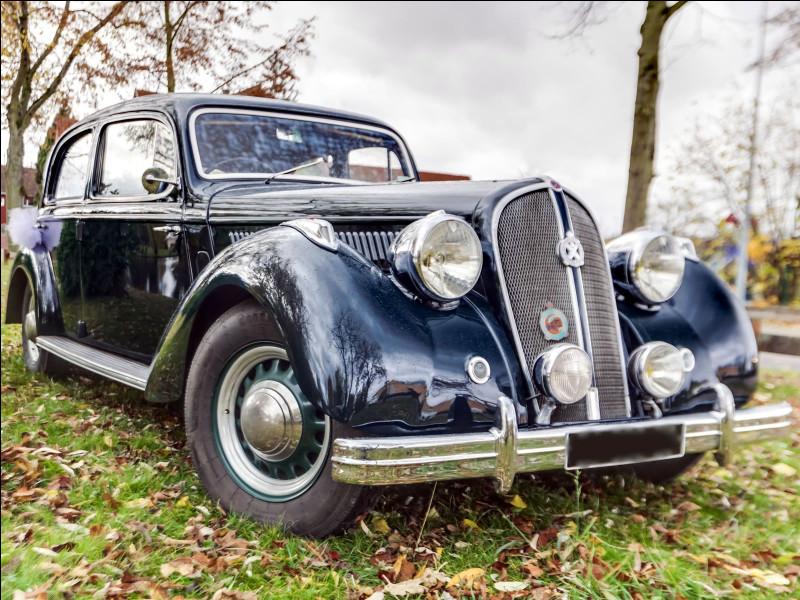 Hotchkiss était une marque de voitures allemande.