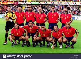 L'Espagne durant l'Euro 2000