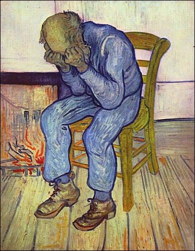 C'est un fait : 70% des personnes décédées par suicide souffraient d'une dépression. Qui a peint ce célèbre tableau souvent interprété comme représentant un personnage dépressif ?