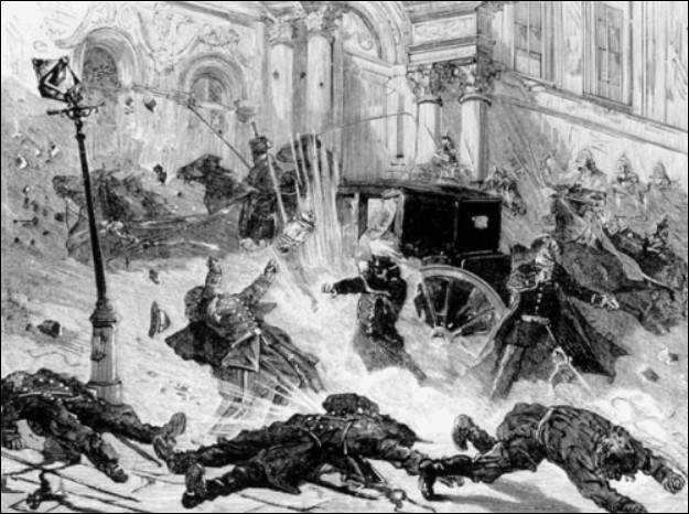 """Quel empereur de Russie surnommé """"le Libérateur"""" est tué suite à un attentat à la bombe en 1881, perpétré par le groupe terroriste 'Narodnaïa Volia' ?"""
