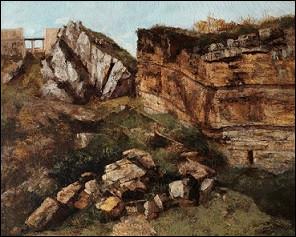 """Un peintre célèbre est venu passer quelques jours à Salins. Il en a profité pour peindre un paysage intitulé """"la Roche Pourrie"""". De qui s'agit-il ?"""