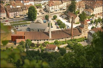 La Grande Saline est un ancien site de production de sel situé en Franche-Comté. Mais pourquoi y a-t-il du sel si loin de la mer ?
