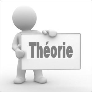 """Prenez le nom latin voulant dire """"théorie"""".Enlevez-lui (s'il y a) tous ses """"a"""", """"i"""" et """"u"""".Que cela donne-t-il ?"""