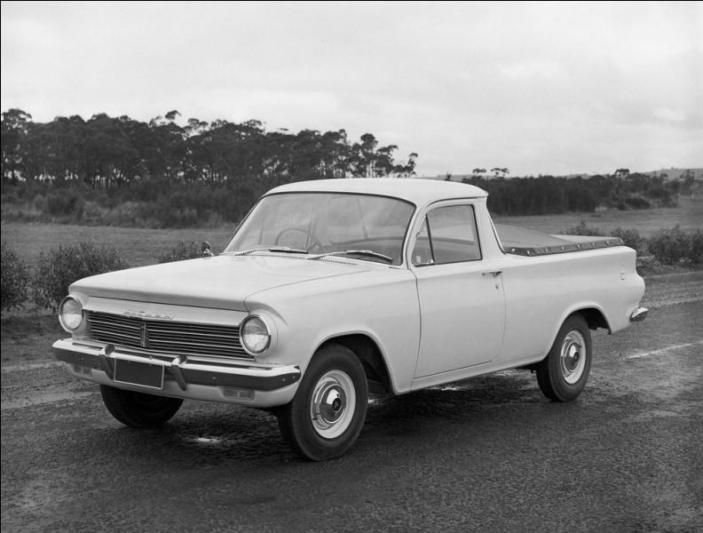 L'Australie a une forte culture du pick-up tout comme les États-Unis et en voici un des années 60. Comment se nomme-t-il ?