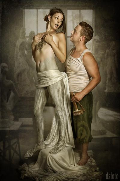 Quand Pygmalion termina la sculpture de cette femme, il en tomba follement amoureux. Qui est-elle ?