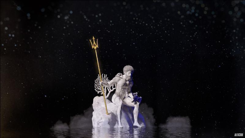 Le trident est le symbole principal du dieu Poséidon, qu'il reçoit des...