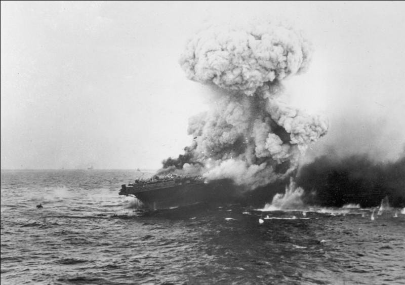 Quelle mer du Pacifique sud, a donné son nom à une grande bataille de la 2e Guerre mondiale, qui a été remportée par l'armée japonaise ?
