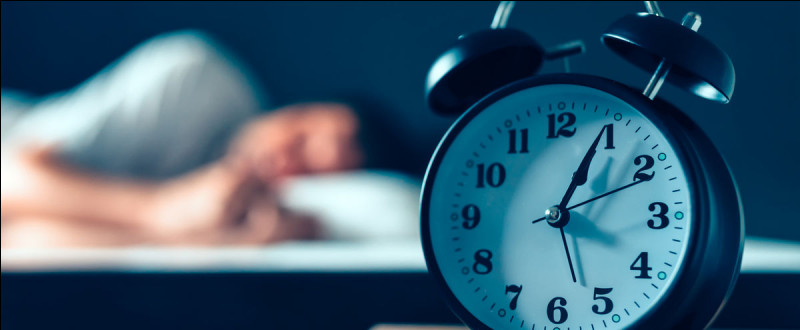 Dormir moins de 9 heures par nuit réduit l'espérance de vie.