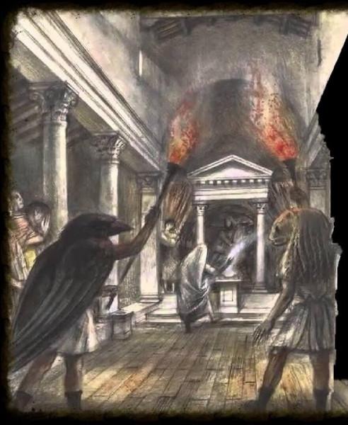 Divinité très ancienne, au début de notre ère son culte va se rependre dans tout l'Empire romain et sera particulièrement populaire chez les militaires. Quelle est-elle ?
