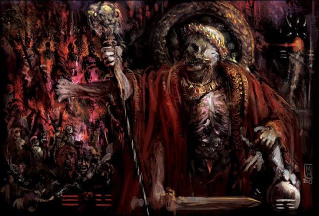 Impitoyable souverain du royaume des morts. Qui est-il ?