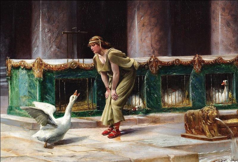 Ces oies donnèrent l'alerte au Capitole pendant l'invasion gauloise de Rome. Qui était leur chef ?