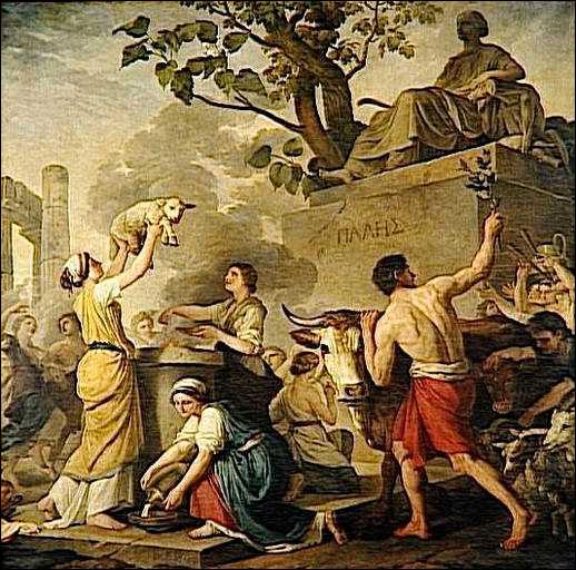 D'origine sicilienne cette déesse était la protectrice des bergers et des troupeaux. Qui est-elle ?