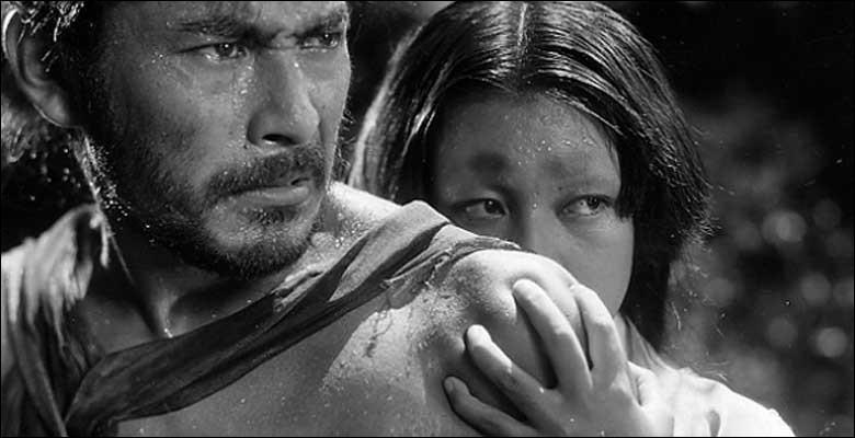 De quel film du cinéaste japonais Akira Kurosawa est extraite cette photo ?