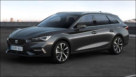 Break espagnol qui devait être présenté au salon de l'automobile de Genève en 2020, ce modèle introduit la nouvelle génération de la compacte espagnole. Quel est son nom ?