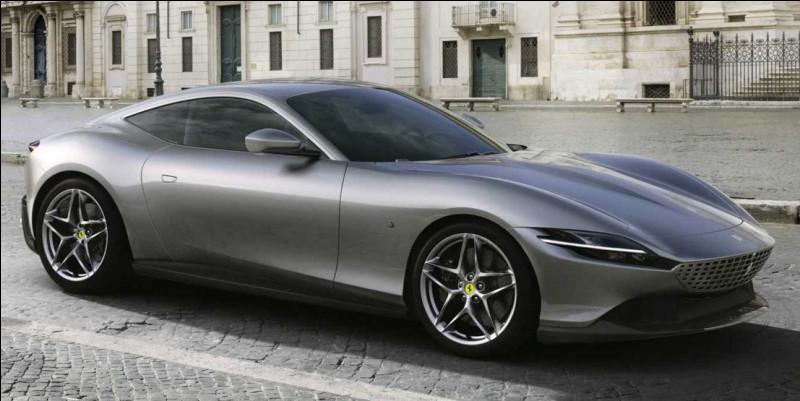 Nommée en l'honneur de la capitale d'un pays européen, cette sportive italienne est aussi une voiture de grand tourisme. Quelle est cette voiture ?