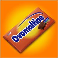 L'Ovomaltine est une barre chocolatée à base de malt d'orge. Prisée pendant les sports d'hiver, elle est devenue célèbre grâce à une campagne de pub, dont le slogan était « Ovomaltine, c'est . .