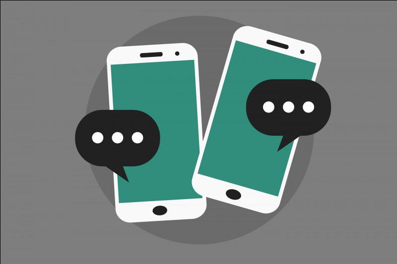 Quand quelqu'un te texte, que fais-tu ?