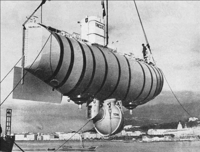Qui est l'inventeur du bathyscaphe ?