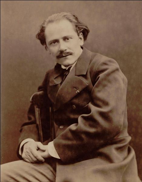 """Ce compositeur, à l'oeuvre essentiellement lyrique, comptant vingt-cinq opéras dont """"Werther"""" et """"Thaïs"""", c'est ... Massenet."""