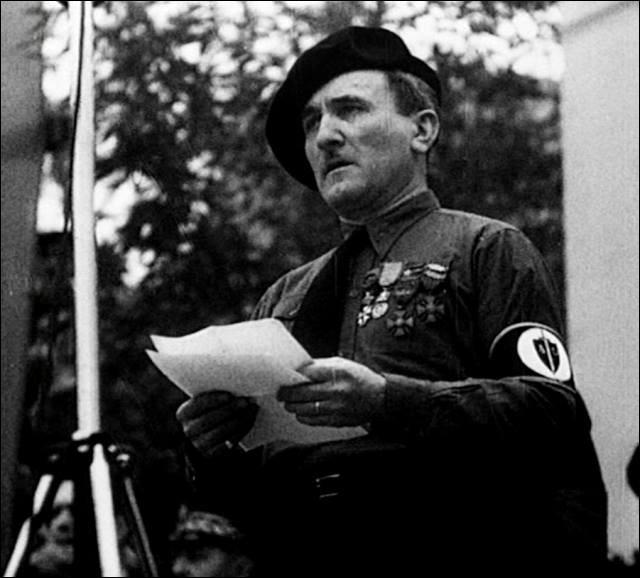 Ce militaire qui a été, sous l'Occupation, une figure majeure de la collaboration avec l'Allemagne nazie, c'est ... Darnand.