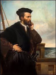 """Ce navigateur et explorateur a découvert en 1534 le golfe du Saint-Laurent et exploré le territoire alentour, le nommant """"Canada"""" : il se prénomme ..."""