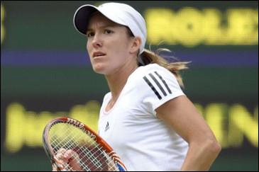 Cette joueuse de tennis belge, qui a remporté quatre fois Roland Garros entre 2003 et 2007 et a été médaillée d'or aux JO de 2004, c'est ... Henin.