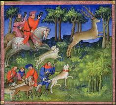 Quel est le titre du livre que Gaston Phébus, grand chasseur et grand amateur d'ouvrages de vénerie et de fauconnerie, a dicté à un copiste entre 1387 et 1389 ?