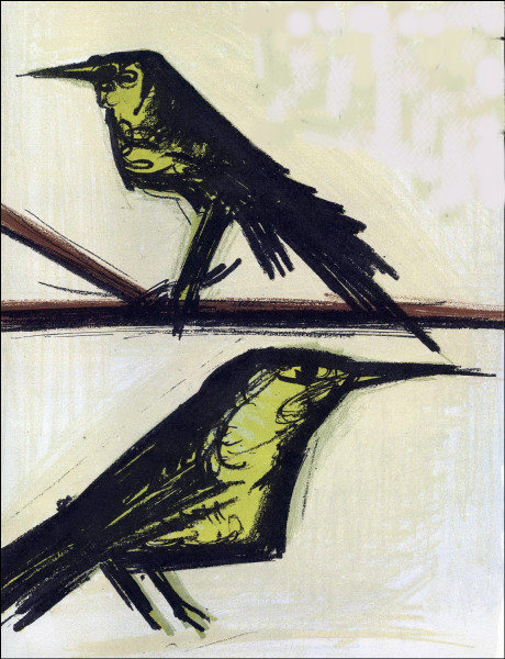 Qui a peint ces corbeaux ?