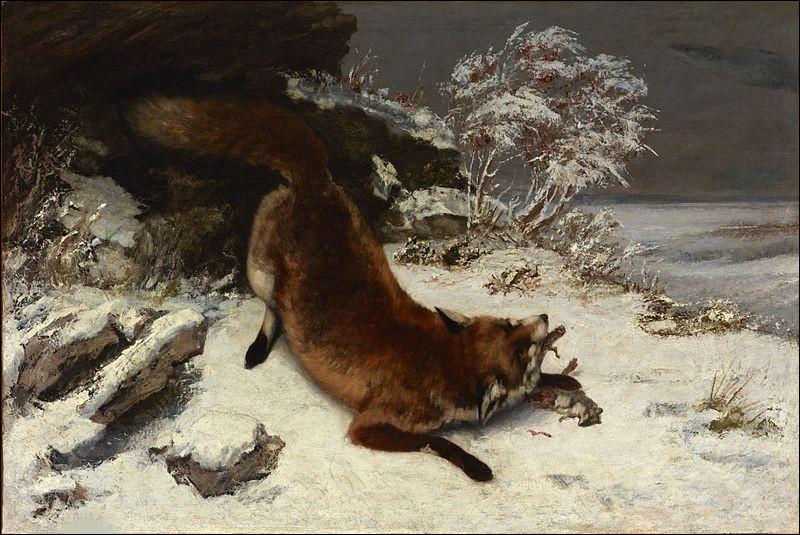 """Qui est le peintre du """"Renard dans la neige"""" ?"""