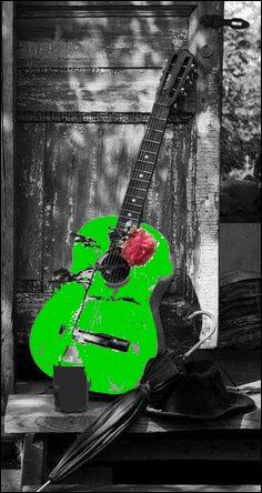 """Qui chantait """"Y a un sac de plastique vert au bout de mon bras, dans mon sac vert y a de l'air, c'est déjà ça"""" ?"""