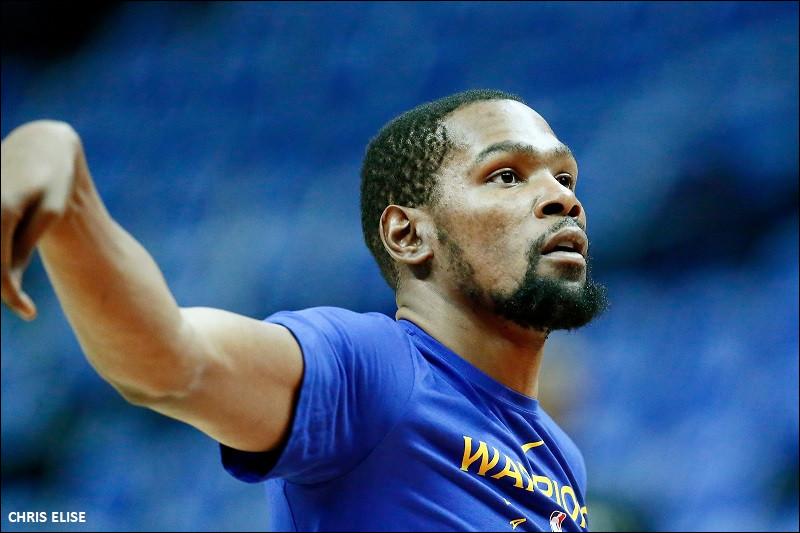 Dans quelle équipe joue actuellement Kevin Durant, joueur professionnel en NBA ? (mai 2020)