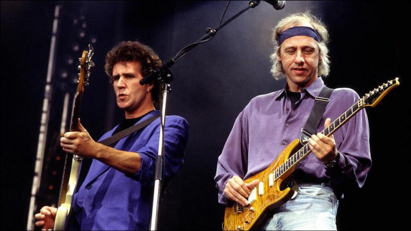 Un de ces 4 albums n'est pas interprété par le groupe de rock Dire Straits. Lequel ?