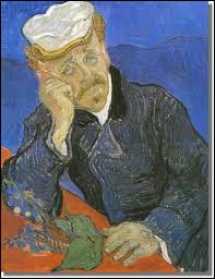 Quel célèbre docteur est immortalisé par Vincent van Gogh dans ce tableau ?