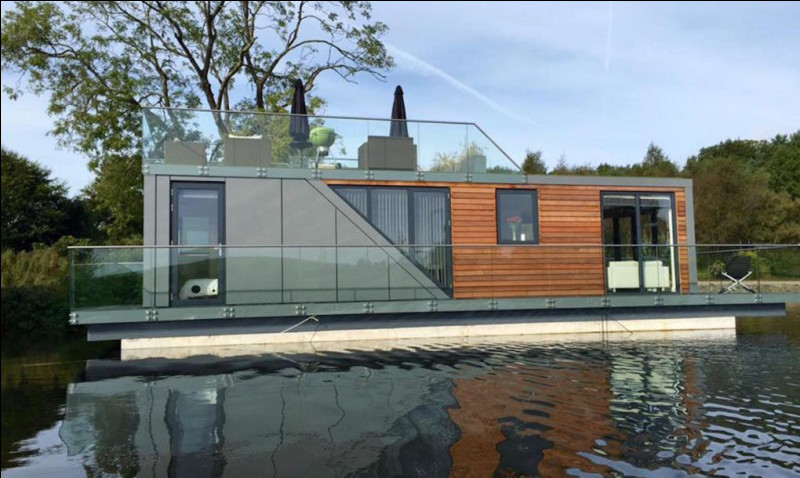 Un houseboat normal neuf coûte...