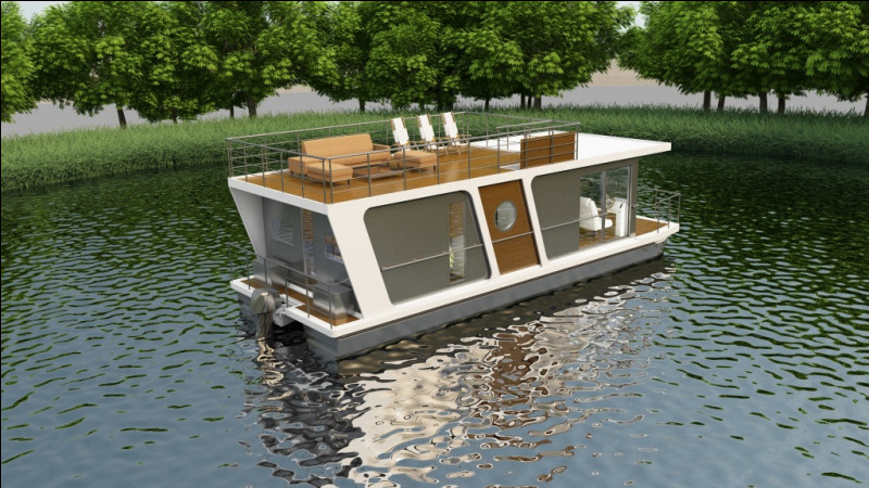 Où sont nés les houseboats ?