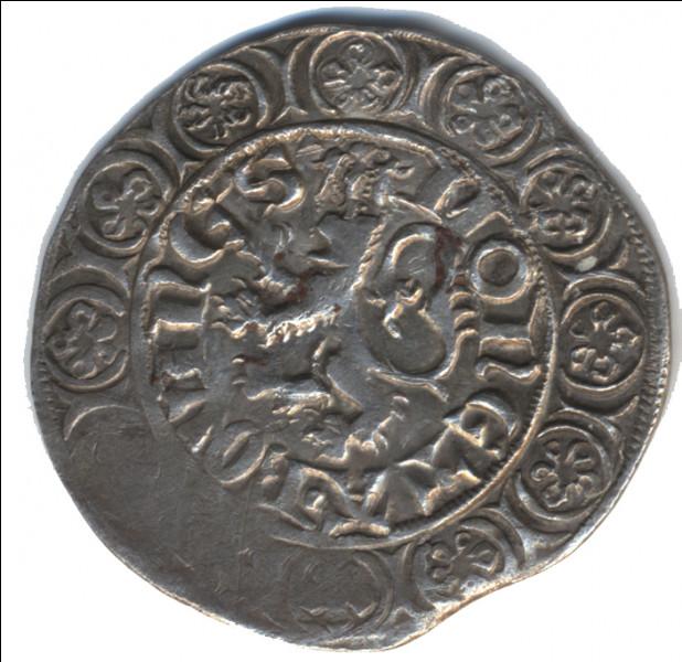 Comment s'appelle la monnaie frappée à Bouvignes par le comte Guillaume Ier au 14e siècle ?