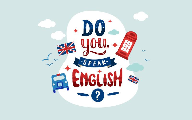 Un peu d'anglais pour la journée !