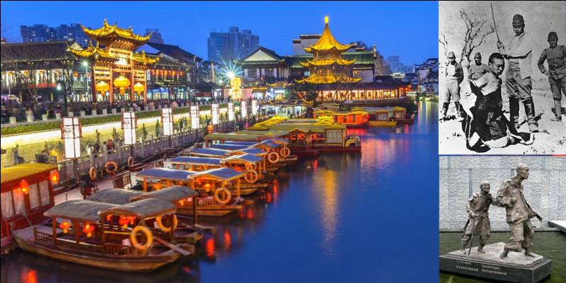 Allons en Chine : Actuellement, cette ville est une capitale provinciale et la capitale officielle d'un état qui est situé ailleurs ! En plus, elle a été de nombreuses fois capitale de différents royaumes aujourd'hui disparus !Quelle est cette ville qui subit un massacre durant le XXe siècle ?