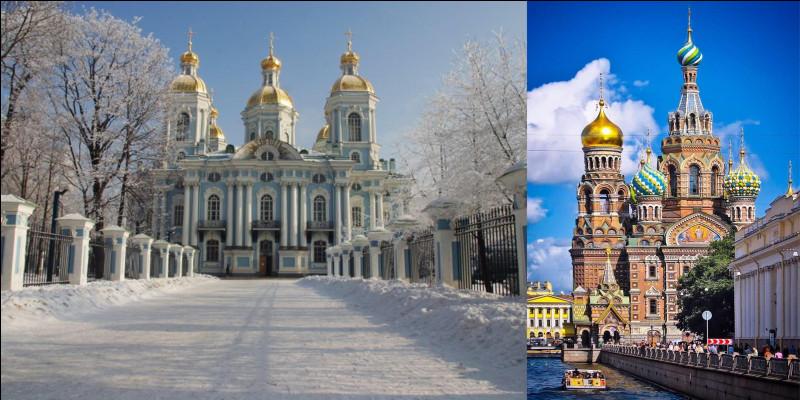 Restons en Russie : Cette ville est devenue la capitale de la Russie neuf ans après sa création. Au cours de son histoire, elle perdra son statut de capitale puis son nom. Quelques décennies plus tard, elle perdra ce nom pour retrouver son ancien nom. Par contre, elle ne récupérera pas son statut !Où sommes-nous ?