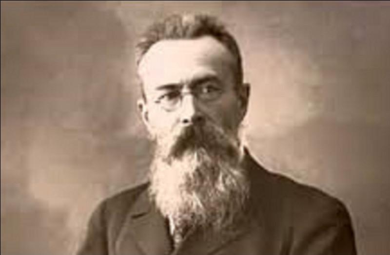 Qui est le compositeur russe de l'interlude orchestral ''Le Vol du bourdon'' ?