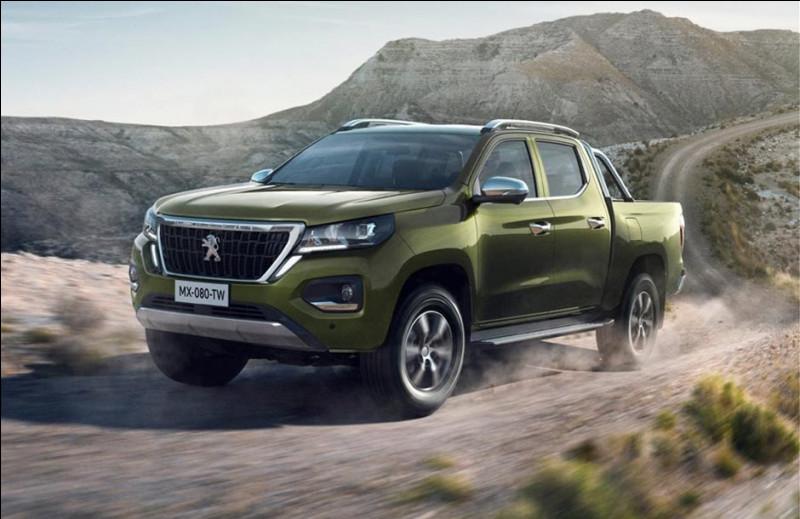 Voici une des dernières nouveautés de chez Peugeot. Mais ce pick-up d'origine chinoise ne nous est pas destiné :
