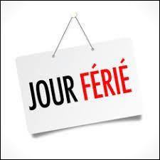 Combien y a-t-il de jours fériés en France ?