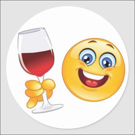 """Si vous avalez votre verre d'un trait, en France on le boit """"cul sec"""", quelle est l'expression britannique ?"""