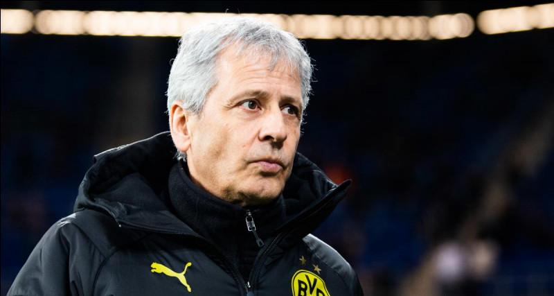 Lucien Favre est l'entraîneur du Borussia Dortmund depuis...