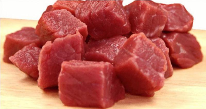 Comment dit-on de la viande en anglais ?