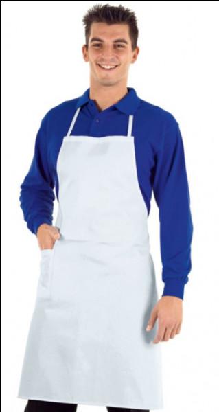 Comment dit-on un tablier de cuisine en anglais ?